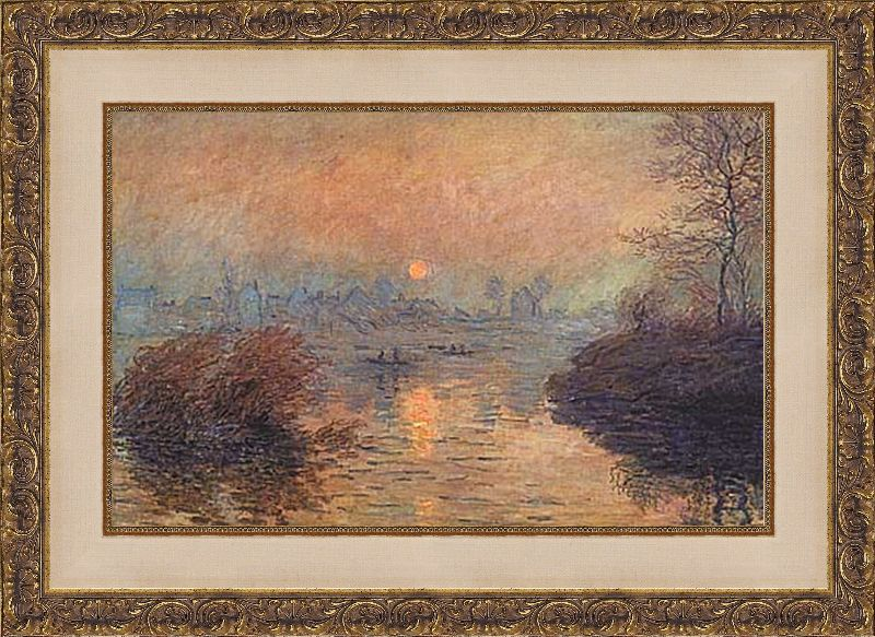 Framed Monet' Art